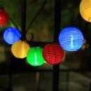 Lampa solara LED Hoff, 10 lampioane colorate