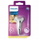 Bec LED Philips spot R50 E14 4.3W lumina calda, dimabil