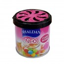 Odorizant auto cu gel, Shaldan Neo, tip conserva, Bubble Gum