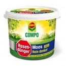 Ingrasamant gazon Compo 1216, granule, efect impotriva muschilor, 4.5 kg