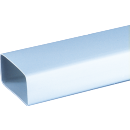 Canal ventilatie plat, Vents, 7010, 60 x 120 x 1000 mm
