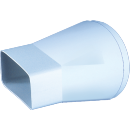 Adaptor tub / canal plat, pentru ventilatie, Vents, 711