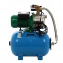 Hidrofor Wasserkonig WTX 9/25H, cu pompa autoamorsanta din inox + vas 24 L + presostat + manometru + furtun flexibil + racord 5 cai, 750 W