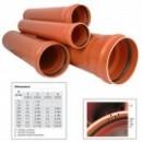 Teava PVC U 125x2.5 L=4m