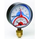 Termomanometru radial 0-4 atm 0-120 258