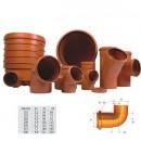 Cot PVC cu inel, 500 mm, 87 grade