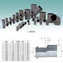 Reductie excentrica htra 40x32  pp sc