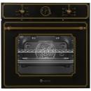 Cuptor electric incorporabil Studio Casa Toscana FE660 Black, clasa A, 52 litri, 6 functii, grill, timer, ventilator, 1500 W, negru