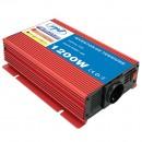 Invertor de tensiune PNI L1200W, 1200 W, alimentare 12 V, iesire 230 V, USB
