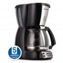 Cafetiera Daewoo DCM900B, 900 W, 1.5 l, capacitate 15 cesti, timer, functie antipicurare, filtru permanent, negru
