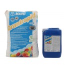 Adeziv flexibil bicomponent pentru gresie si faianta Mapei Granirapid A + B, interior / exterior, gri, 30.5 kg
