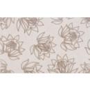 Decor faianta baie / bucatarie Adora Magnolia lucios bej 25 x 40 cm