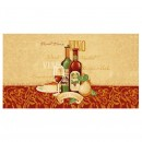 Covoras bucatarie Davo Pro Vino nylon dreptunghiular multicolor 67 x 120 cm