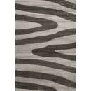 Covor living / dormitor Sintelon Vegas Home 04BWB polipropilena frize, heat-set dreptunghiular gri 120 x 170 cm