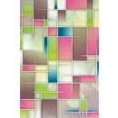 Covor living / dormitor Sintelon Vegas Pop 43 RVR polipropilena dreptunghiular multicolor 80 x 150 cm