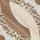Gresie decor exterior / interior portelanata antiderapanta Tas Marron, mata, maro, 45 x 45 cm