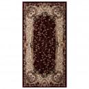 Covor living / dormitor Carpeta Atlas 30241-41355 polipropilena heat-set dreptunghiular bordo 80 x 150 cm