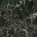 Gresie exterior / interior portelanata rectificata Tiger Black, mata, neagra 60 x 60 cm