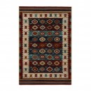 Covor living / dormitor Carpeta Atlas 86991-41622 polipropilena heat-set dreptunghiular multicolor 120 x 170 cm