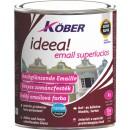 Vopsea alchidica pentru lemn / metal, Kober Ideea, interior / exterior, rosie E51240, 0.75 L