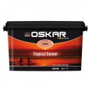 Vopsea lavabila interior, Oskar Coloris Tropical Sunset medium, 5 L