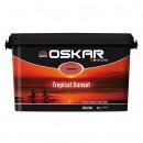 Vopsea lavabila interior, Oskar Coloris Tropical Sunset, intensiv, 5 L