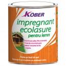 Impregnant pentru lemn Kober Ecolasure IG 8000, incolor, pe baza de apa, interior/exterior, 0.75 L