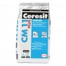 Adeziv gresie si faianta Ceresit CM 11 Plus, gri, pentru interior / exterior, 5 kg