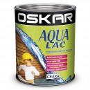 Lac pentru lemn Oskar Aqua Lac, tec, pe baza de apa, interior / exterior, 2.5 L
