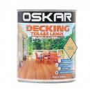 Impregnant pentru lemn, Oskar Decking, incolor, 0.75 L