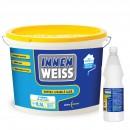 Vopsea lavabila interior, Innenweiss, alba, 8.5 L + Amorsa Innenweiss 0,9 L