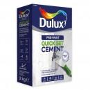 Mortar pentru reparatii Dulux Quick Set Cement, interior / exterior, 2 kg