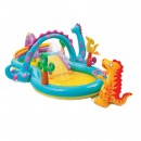 Piscina gonflabila Intex Dinoland 57135NP, pentru copii, 333 x 229 x 112 cm