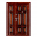 Usa interior metalica dubla BestImp B03ED, stanga/dreapta, mahon, 202 x 140 cm