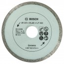 Disc diamantat, continuu, pentru debitare placi ceramice, Bosch, 115 x 22.23 x 1.7 mm, 2607019472