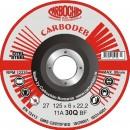 Disc pentru polizare 11ABACH27 dimensiuni 230x6x22 mm  pentru otel