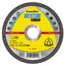 Disc debitare metal, Klingspor A 60 Extra, 115 x 22.23 x 1 mm