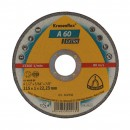 Disc debitare inox si metal, Klingspor A 60 Extra, 115 x 22.23 x 1 mm