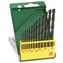 Burghiu pentru metal, tip HSS-R,  Bosch 2607019441, 1 - 6.5 mm, set 13 bucati
