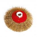Perie circulara, pentru lustruire lemn / fier, Lumytools LT06973, diametru 115 mm