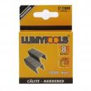 Capse tapiterie, 8 mm, Lumytools LT72080, set 1000 bucati