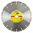 Disc diamantat, cu segmente, pentru debitare materiale de constructii, Klingspor DT 300 U Extra, 115 x 22.23 x 2 mm