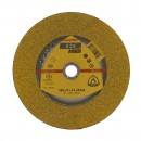 Disc debitare metal, Klingspor A 24 Extra, 230 x 22.23 x 3 mm