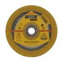 Disc polizare metal, Klingspor A 24 Extra, 180 x 22.23 x 6 mm