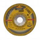 Disc polizare metal, Klingspor A 24 Extra, 125 x 22.23 x 6 mm