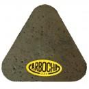 Piatra inima, abraziva, pentru slefuit beton / marmura / granit, Carbochim, 100 x 60 x 55 mm