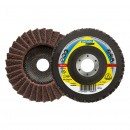 Disc lamelar frontal pentru inox Klingspor SMT 800 278499 granulatie medie 125x22.23 mm