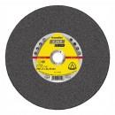 Disc debitare otel, Klingspor A 24 R Supra, 125 x 22.23 x 2.5 mm