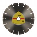 Disc diamantat, cu segmente, pentru debitare materiale de constructii, Klingspor DT 300 U Extra, 125 x 22.23 x 1.6 mm