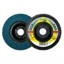 Disc lamelar frontal, pentru metal, Klingspor SMT 325, 115 x 22.23 mm, granulatie 80